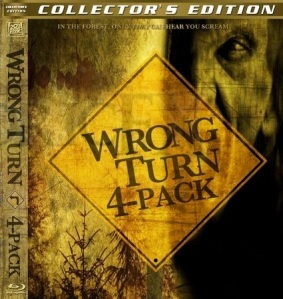 Wrong Turn DVD boxset