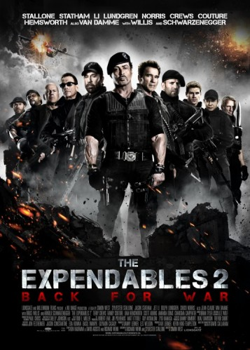 expendables 2 movie poster