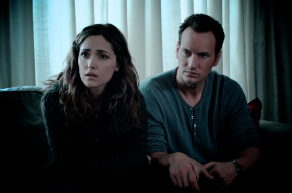 Rose Byrne & Patrick Wilson as The Lambert's