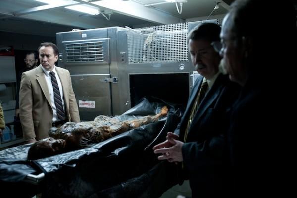 frozen ground autopsy