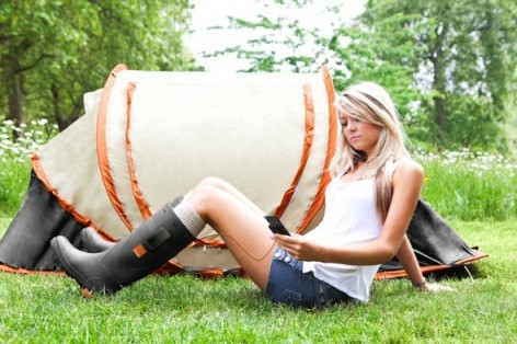 hot girl tent